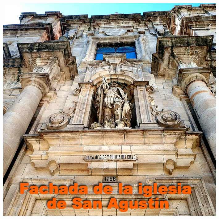 fachada-iglesia-de-san-agustin la princesa de los apostoles